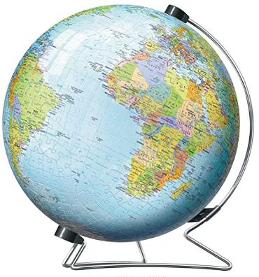 3D earth jigsaw puzzle