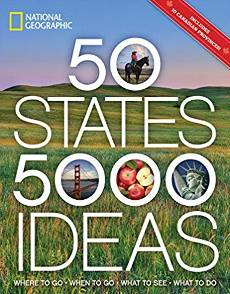 50 states travel book