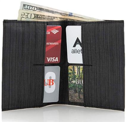 Allet slim nylon wallet