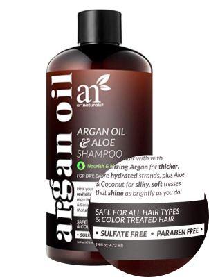 Argan oil sulfate free shampoo