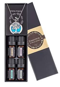 Aromatherapy Necklace Gift Set