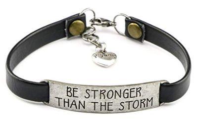 Be strong - inspirational bracelet