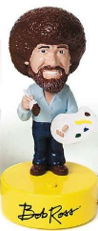 Bob Ross bobble head