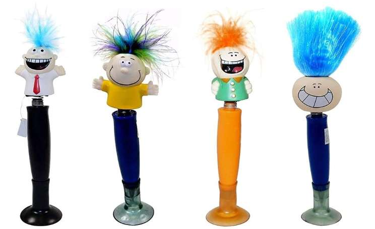 Bobble head pens