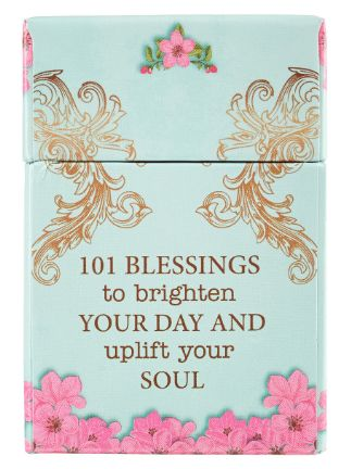 Box of blessings - inspirational cards