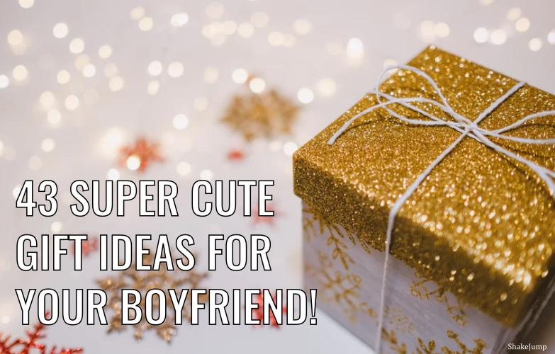 45 Small And Cute Gift Ideas For Your Boyfriend (or Husband)