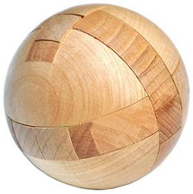 Cute puzzle ball
