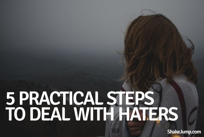 Deal with haters - featured image