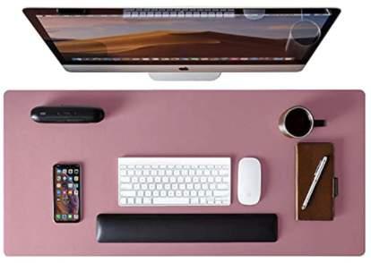 Waterproof PU Leather Desk Mat