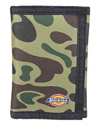 Dickies trifold nylon wallet with zip comparment