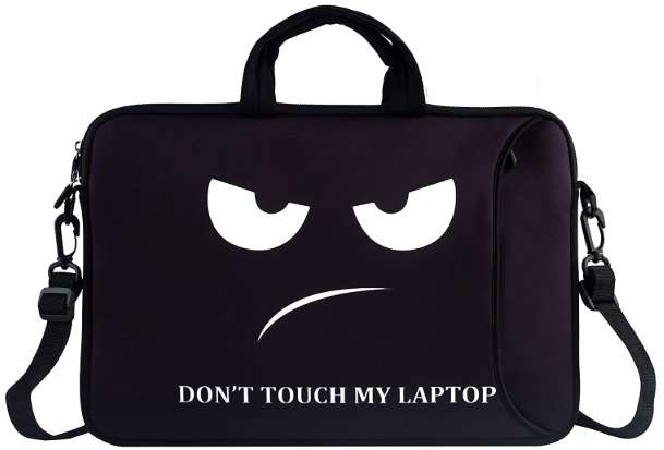 Funny laptop bag