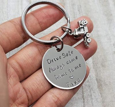 Drive safe - keychain