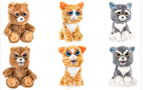 Feisty stuffed animals