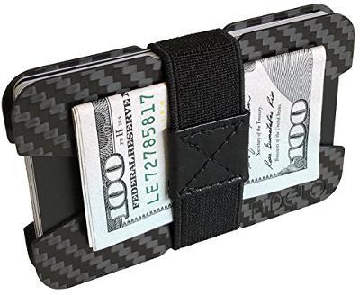 Fidelo carbon fiber minimalist wallet