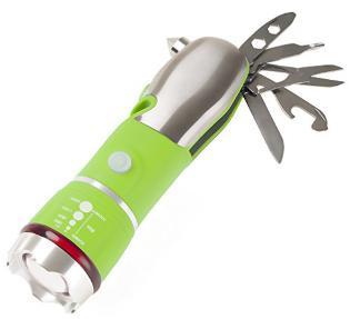 Multitool flashlight
