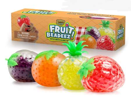 Fruit beads stress balls