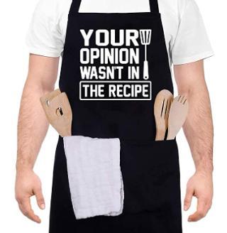 Funny lightweight apron