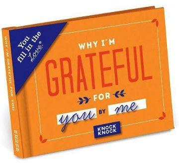 I am grateful for you book