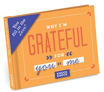 Why I'm Grateful for You – Fill in the Blank Journal