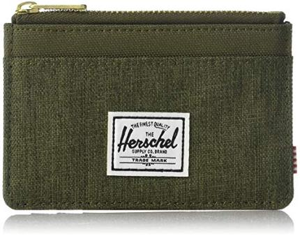 Herschel nylon zipper wallet