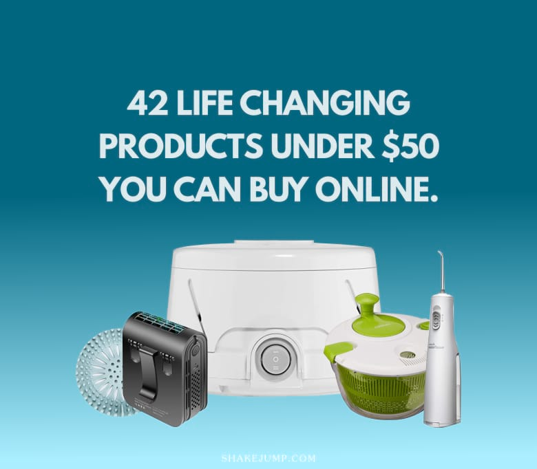42 Life Changing Products Under $50 You Can Buy Online