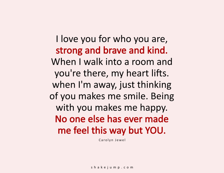 Why do i like you quotes