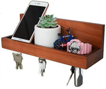 Magnetic Key Ring Holder and Shelf