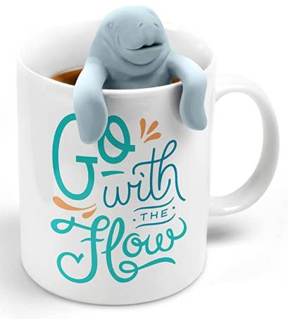 Manatea tea infuser and mug