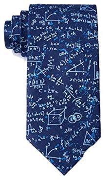 Math equations necktie