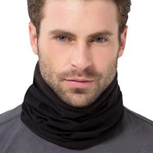 Men's neck warmer scarf