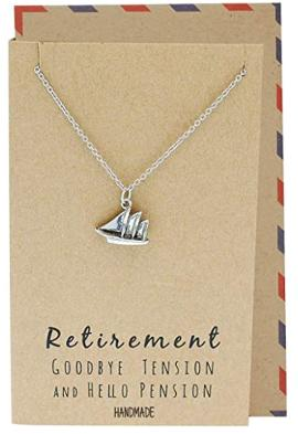 Mini sailboat necklace