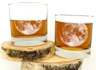 Moon Whiskey Glasses