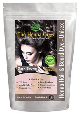 Natural henna hair-dye