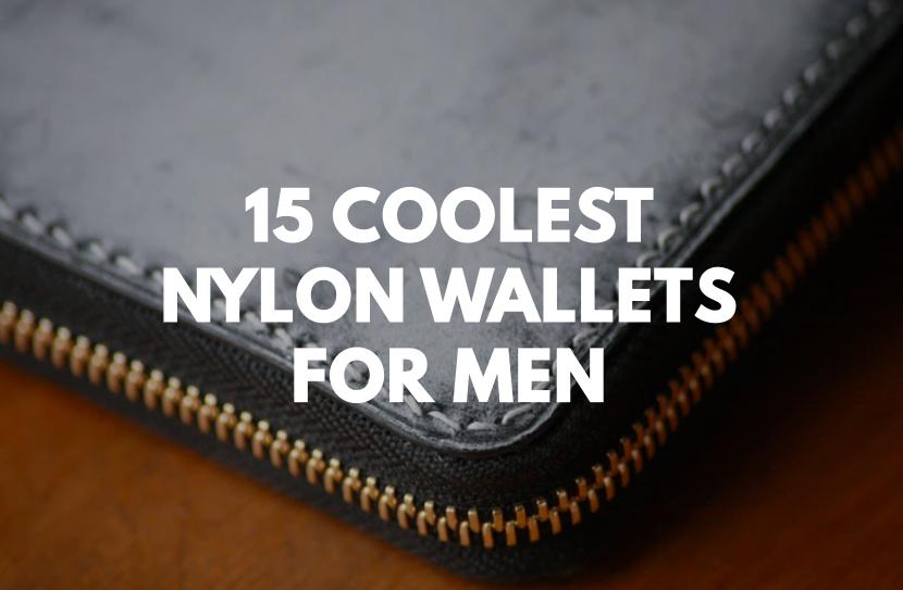 15 Stylish Nylon Wallets for Men (Lightweight and Modern)