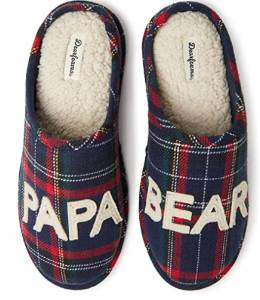 Papa bear comfy slippers