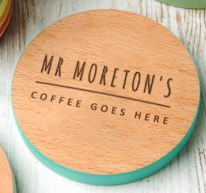 Personalized coaster