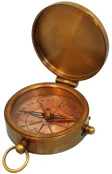 Personalized pocket compass