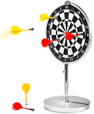 Portable Dartboard With Magnetic Darts