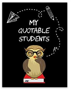 Quotable students journal