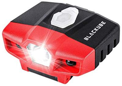 Small rechargeable cap light
