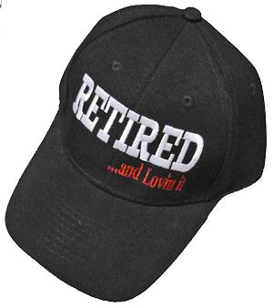 Retired and loved it hat