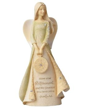 Retirement angel figurine