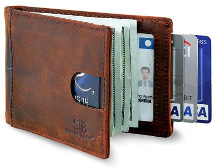 Sherman brands bifold wallet