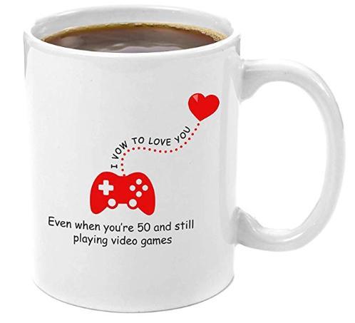 Vow to love you mug