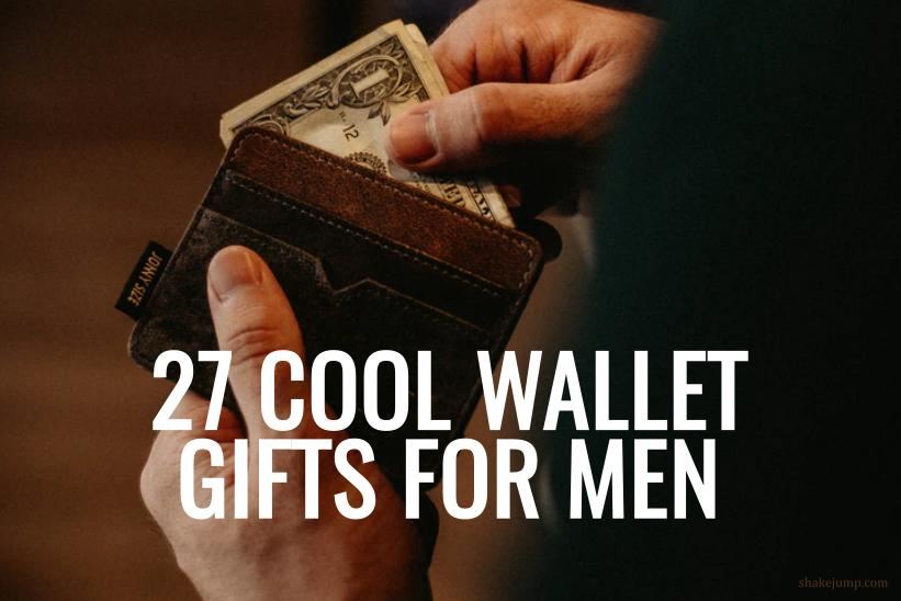 27 Coolest Men's Wallets That Make for an Excellent Gift!