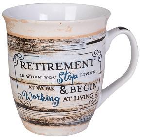 Wide ceramic mug