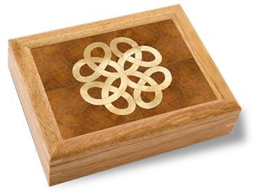 Wooden celtic box