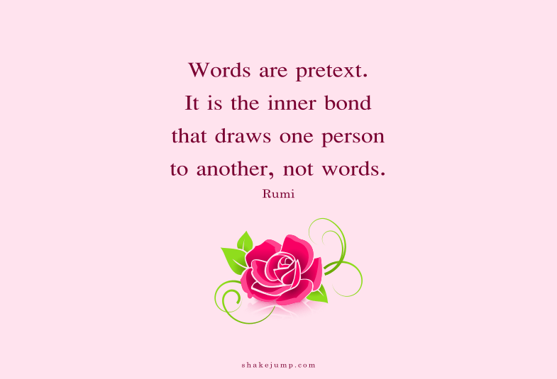Words are pretext