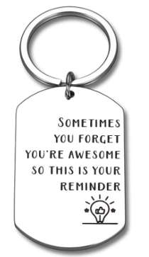You are awesome keychain